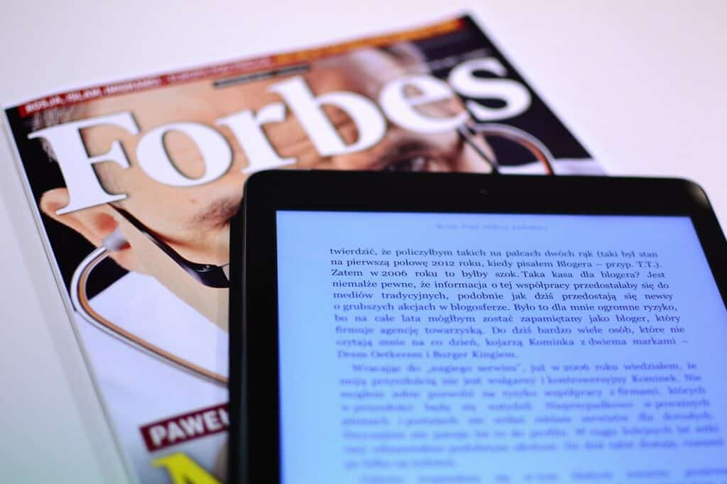 forbes, magazine, reading